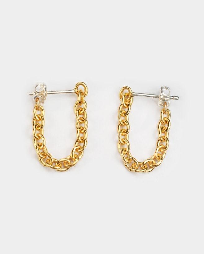 boucles d'oreilles chaines