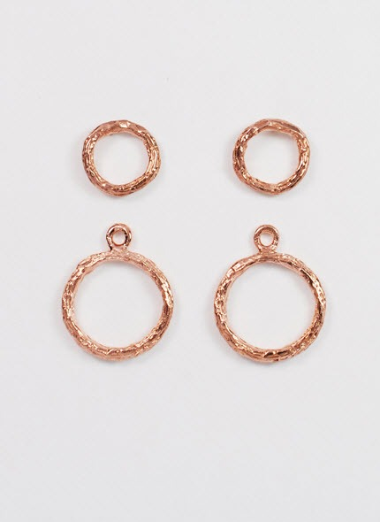 ear jacket rose gold