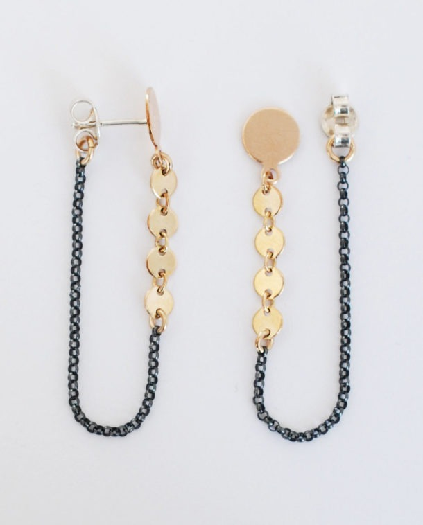 boucles black and gold