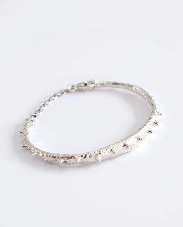 bracelet pics argent