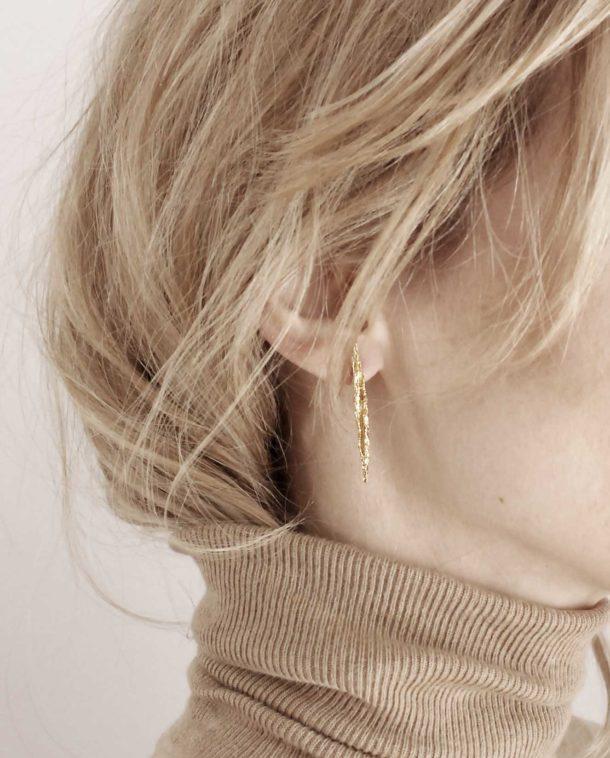 boucles d'oreilles edgy