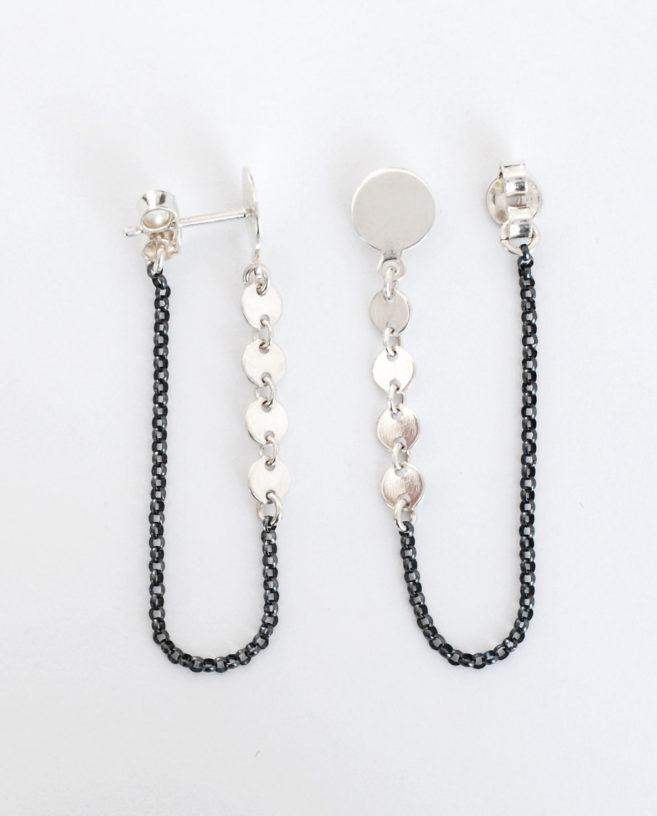 sexy silver earrings