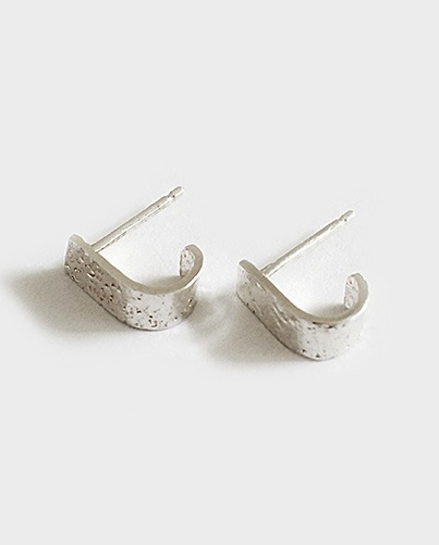 dainty silver earrings
