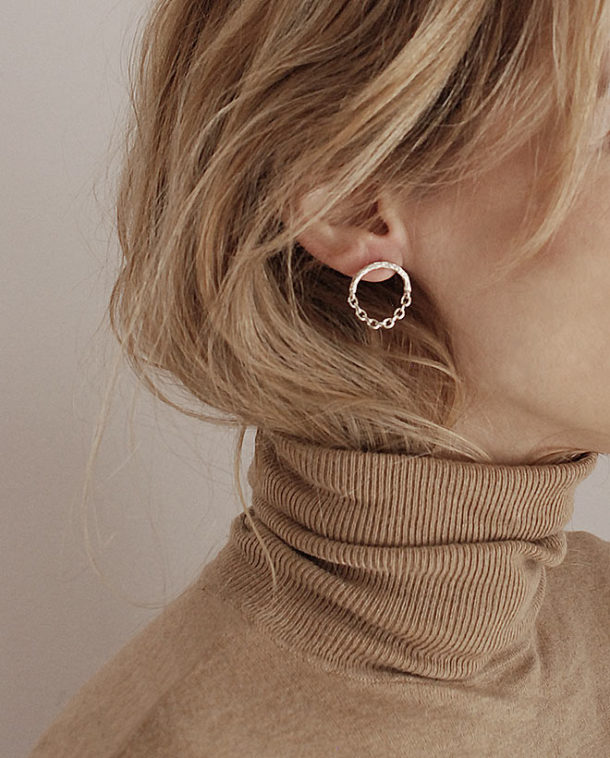 original silver earrings