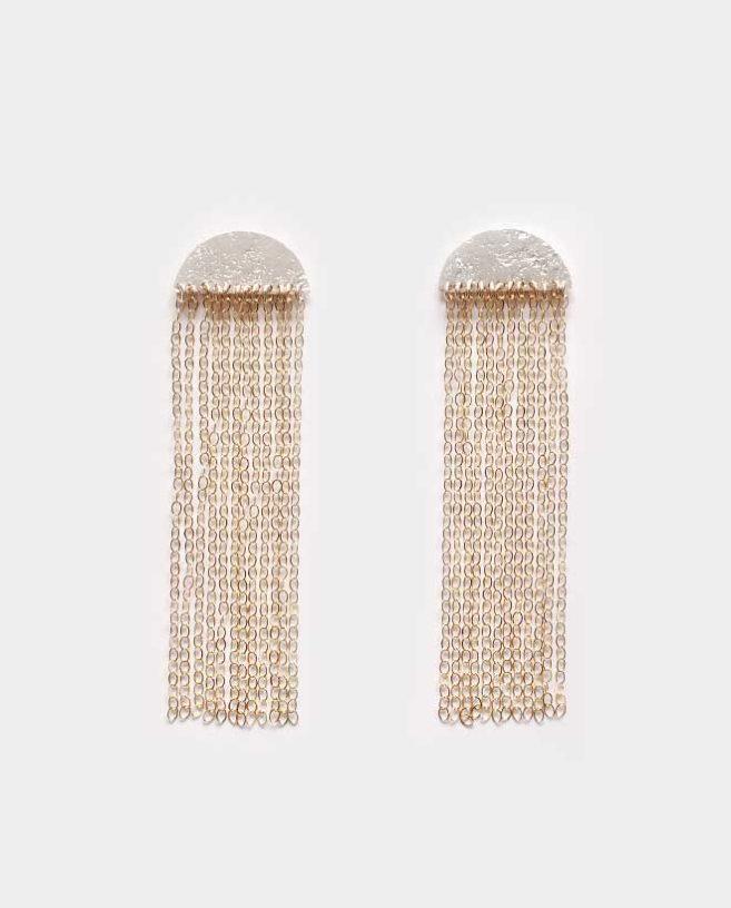 long chain earrings golg