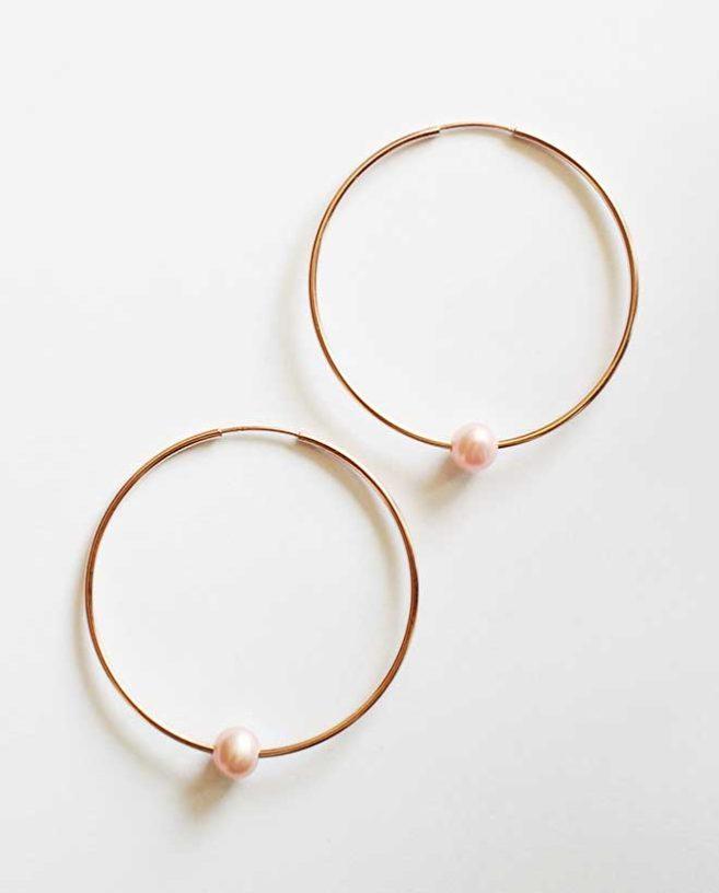 anneaux or rose