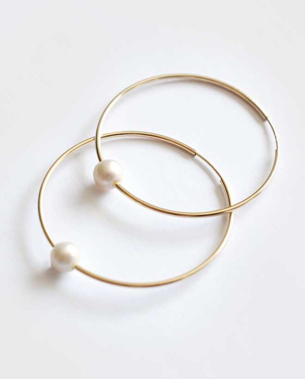 original gold hoops