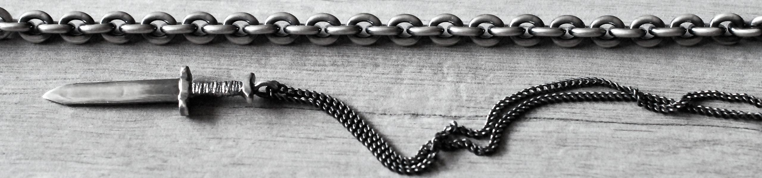 heavy man bracelet silver