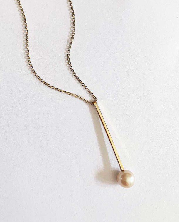 bijou perle contemporain
