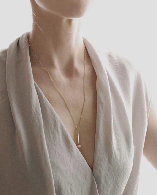 pendentif perle original