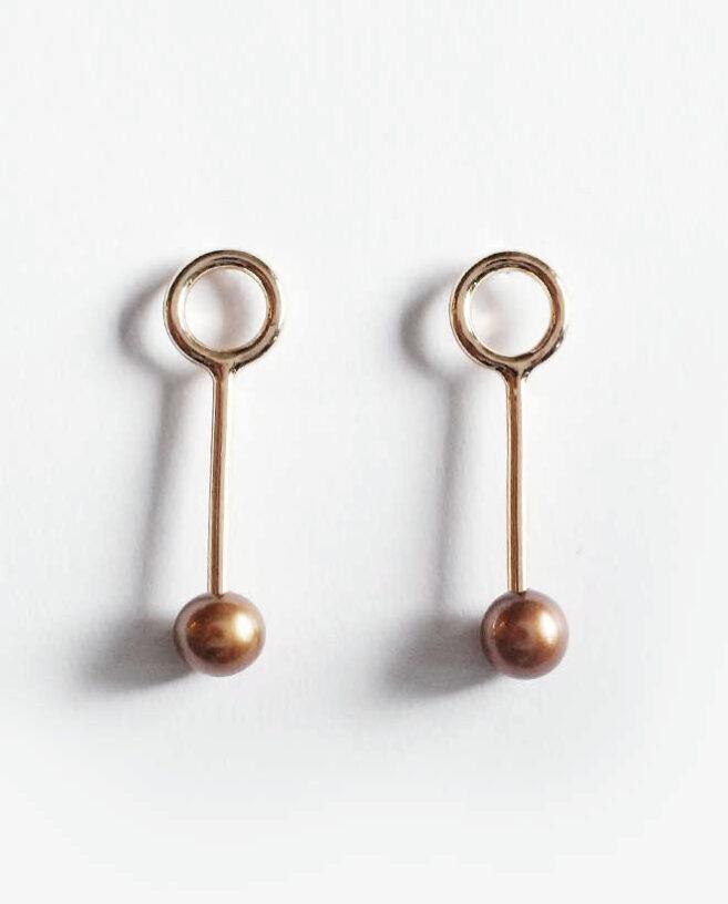 perles bronze